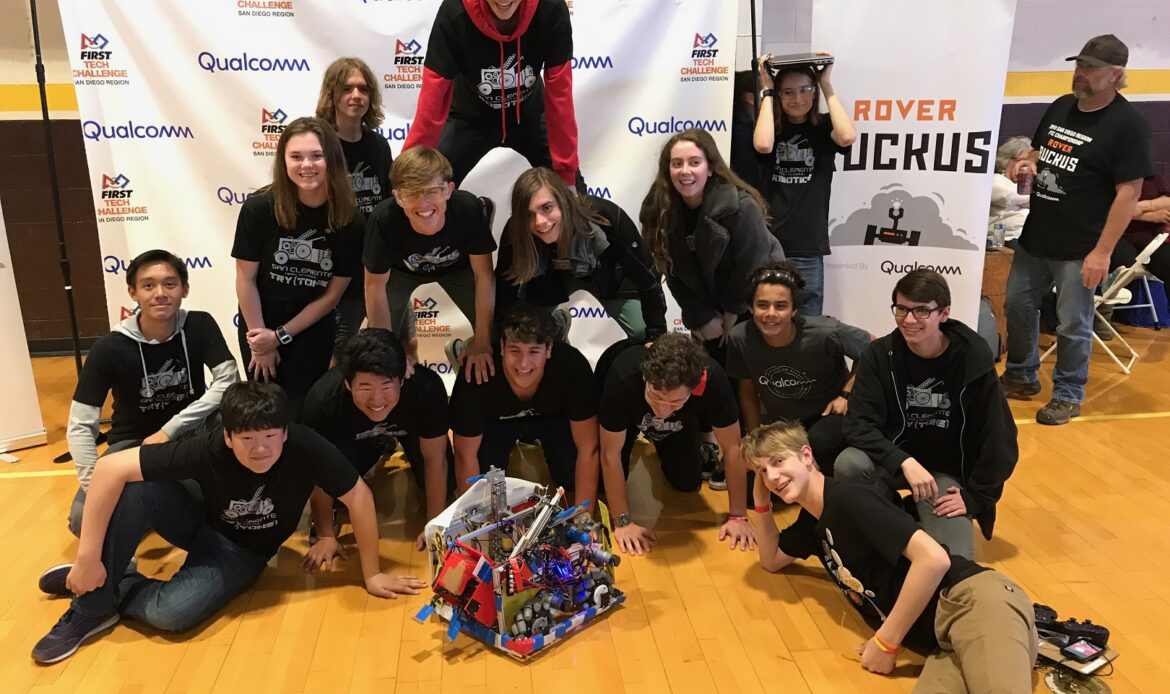 San Clemente High School Robotics Club Engages Students Interested in Engineering