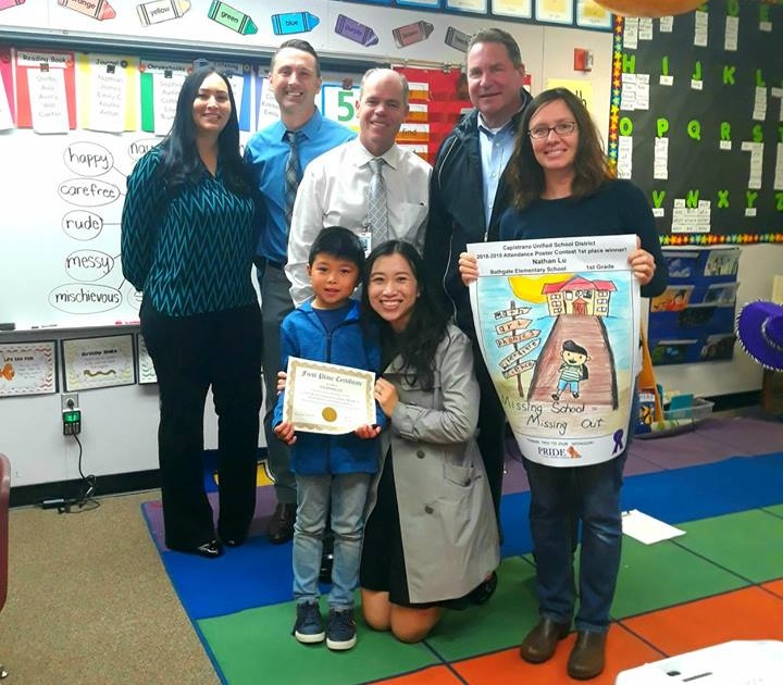 Poster Contest Promotes Positive School Attendance