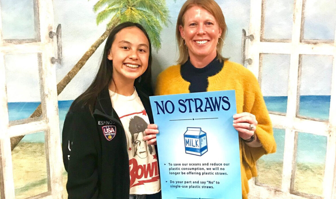 NMUSD Student Partners with CUSD to Phase Out Straws
