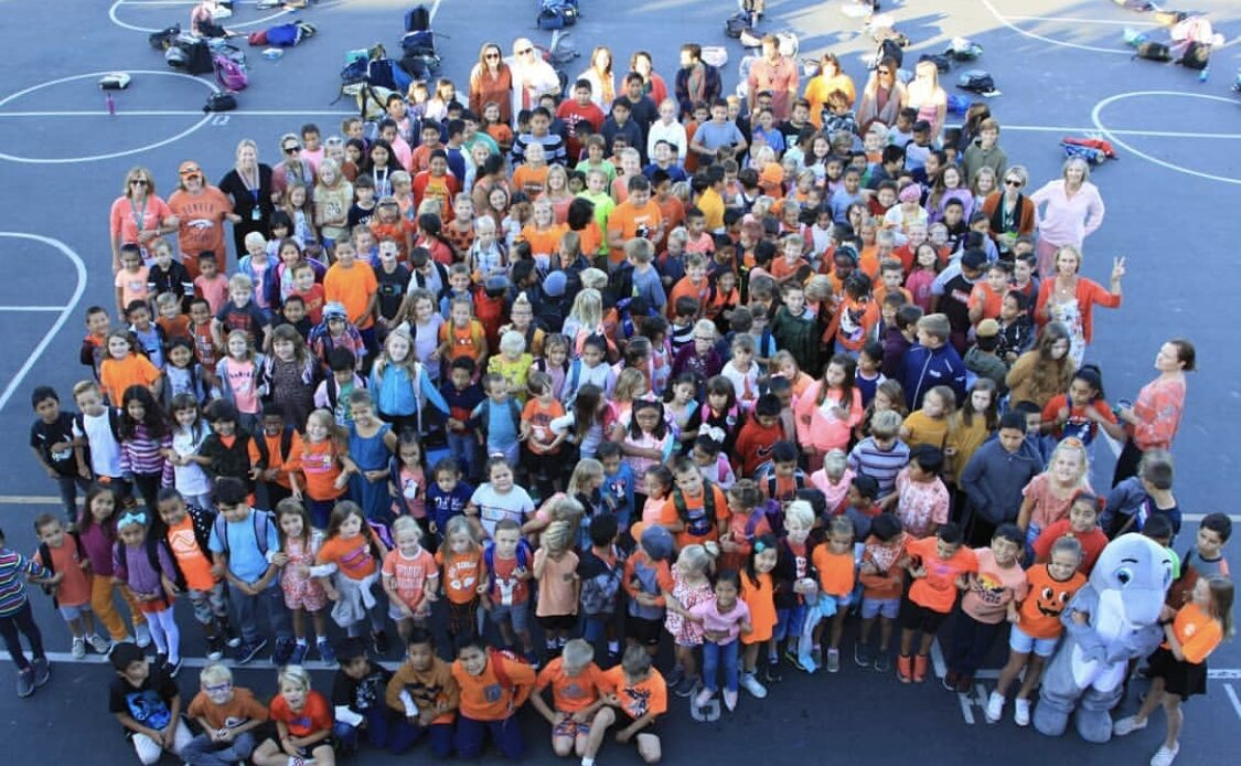 CUSD Students and Staff Dress in Orange to Celebrate Unity Day, A National Event Supporting Bullying Prevention
