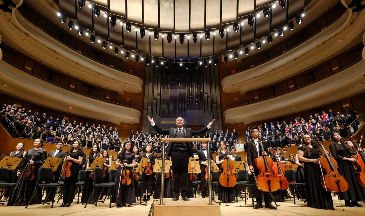 Over 500 Capistrano Unified students awe audience with outstanding musical performance at Segerstrom Concert Hall
