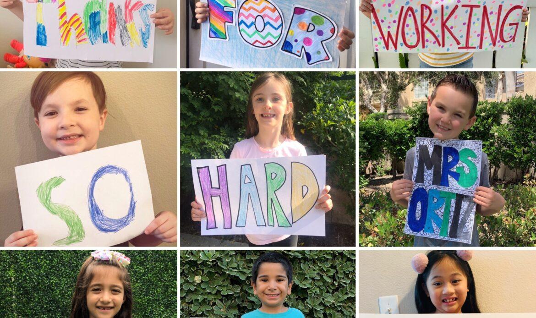Capistrano Unified celebrates Teacher Appreciation Week from a distance