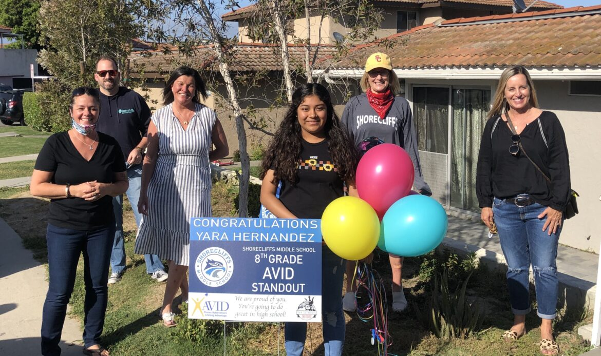 CUSD honors standout AVID students of 2019-2020