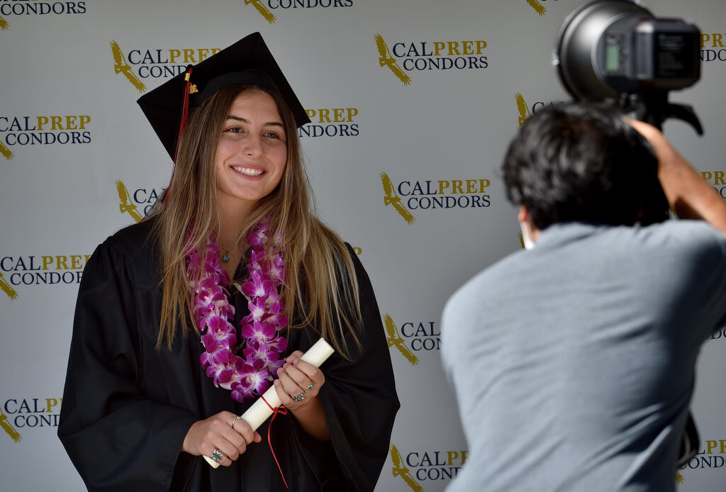 California Preparatory Academy commencement honors school's 45 graduates