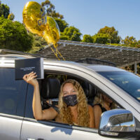 Aliso Niguel High School graduates sent off in style with drive-through ceremony