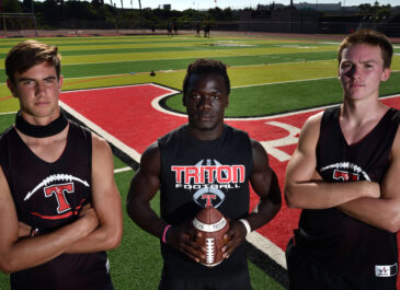 Three San Clemente High football players commit to NCAA Division I colleges