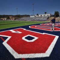 Tesoro High upgrades football field, volleyball court, and more