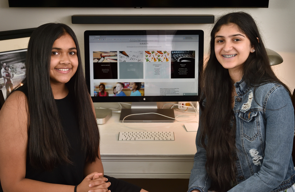 Tesoro freshmen create nonprofit tutoring business