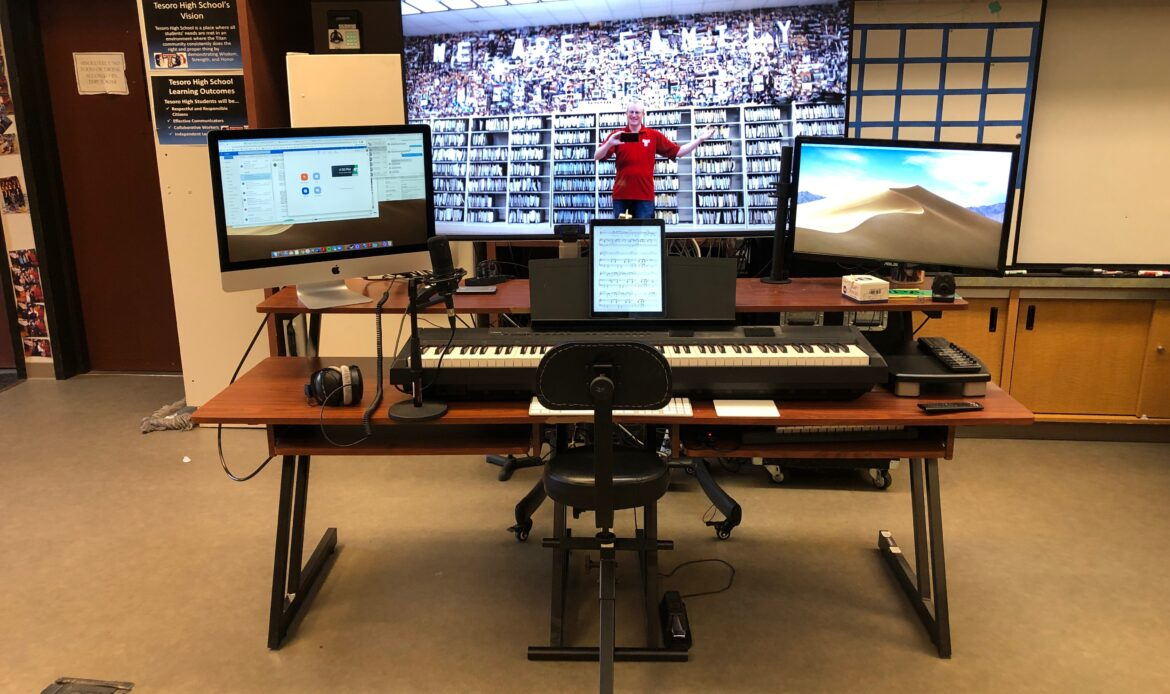 CUSD teachers use tech, creativity to teach voice and instrumental music during pandemic