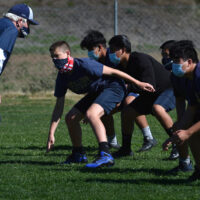 San Juan Hills freshmen find connection through football practice