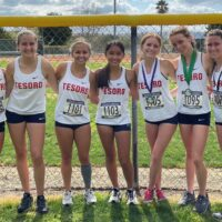 Tesoro girls cross country team takes first at Sea View League Finals