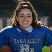 Dana Hills kicker is first female player to score in varsity game