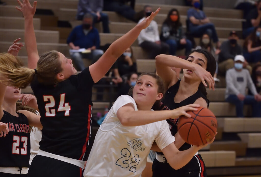 Aliso Niguel High girls basketball sinks San Clemente Tritons