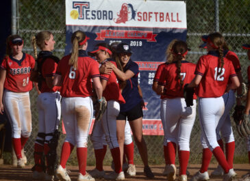 Titans victorious in softball game at Tesoro High