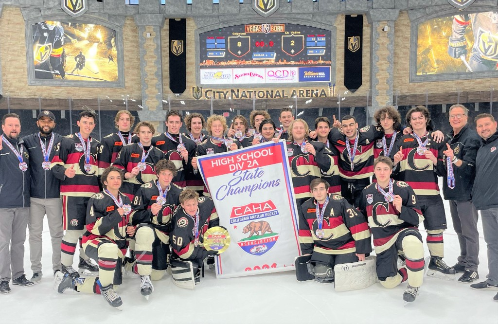 Hard work, team unity equate to championships for the Capo Coyotes Ice Hockey Team