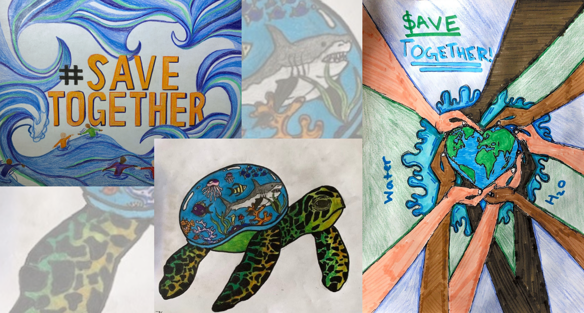 Three CUSD students win water district poster contest