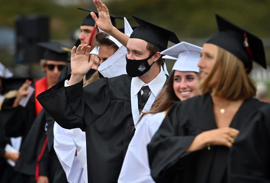 San Clemente High grads celebrate commencement in stadium ceremony