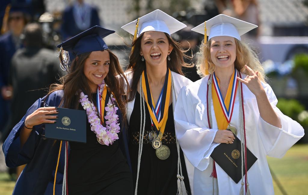 San Juan Hills High School grads celebrate commencement