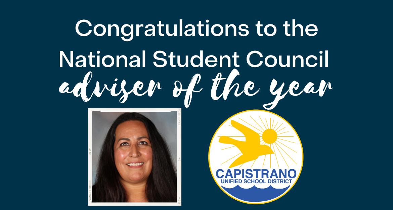 Las Flores Teacher Petra Davis-Johnson is national Student Council Adviser of the Year