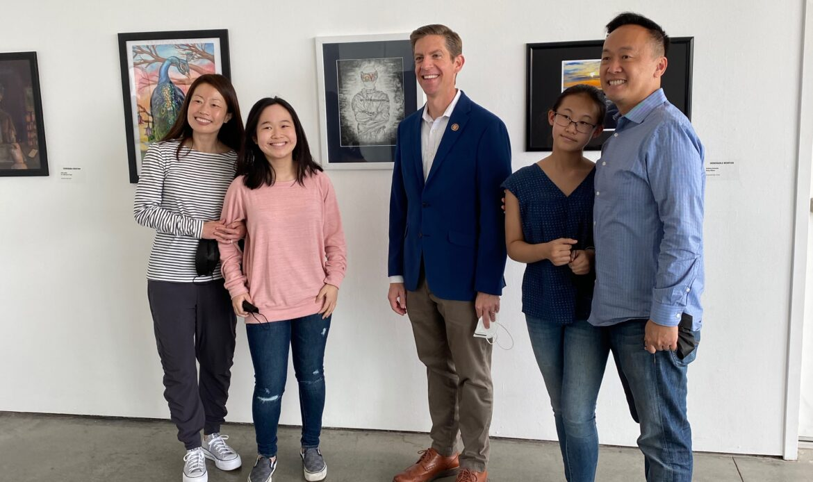 San Juan Hills students win Congressional Art Competition honors