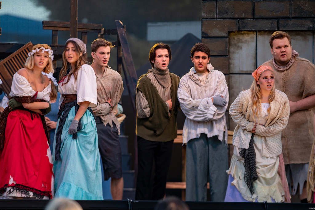 San Clemente High theatre students, staff put on 'miracle' performance of 'Les Misérables'