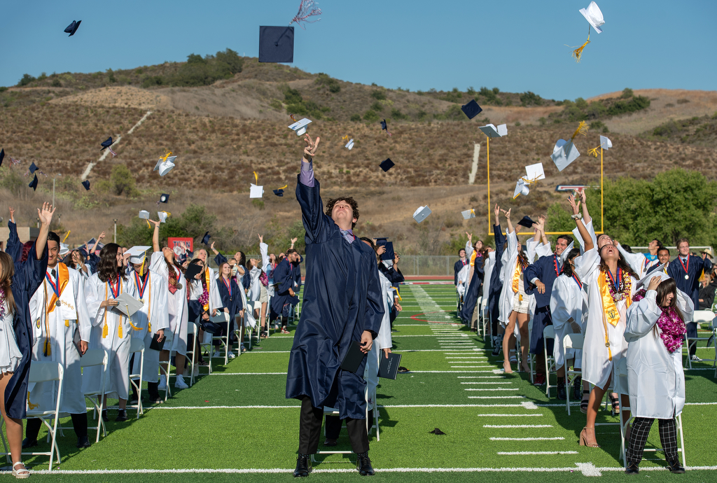 Tesoro High holds emotional graduation ceremony for Class of 2021