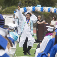 Dana Hills High grads bid adieu to high school in cheerful commencement ceremony