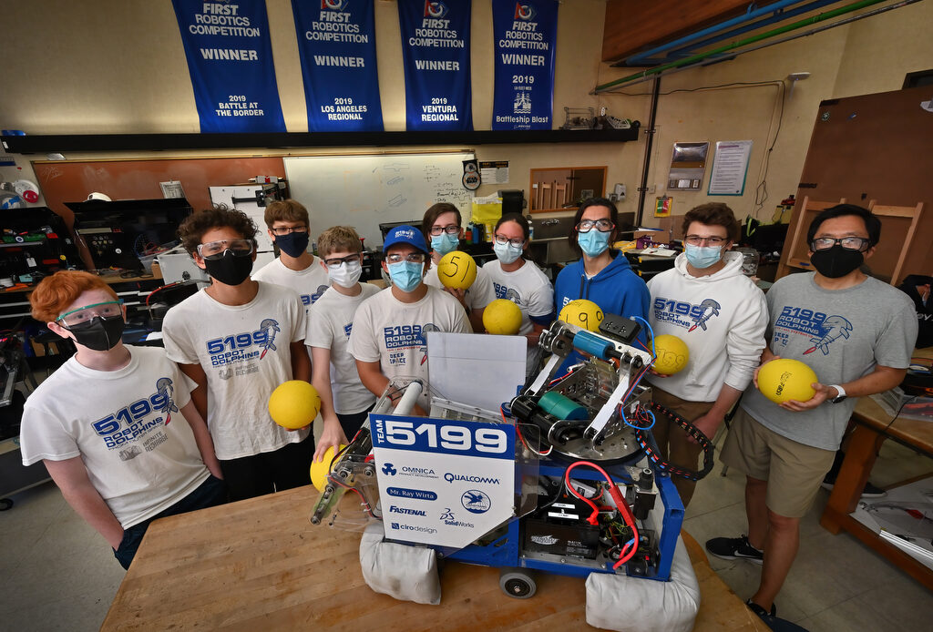 CUSD robotics team provides crucial skill building for students going into STEM careers