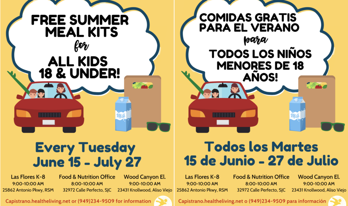 CUSD provides free meals all summer