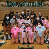 Girls volleyball hits the courts after a short pandemic season
