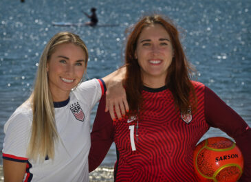 High school rivals become friends through shared love of beach soccer and of Capistrano Unified